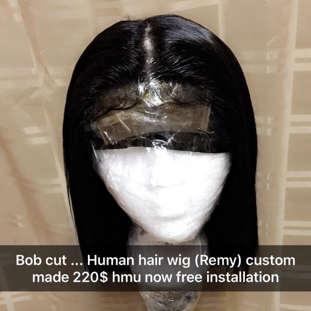 Bob cut