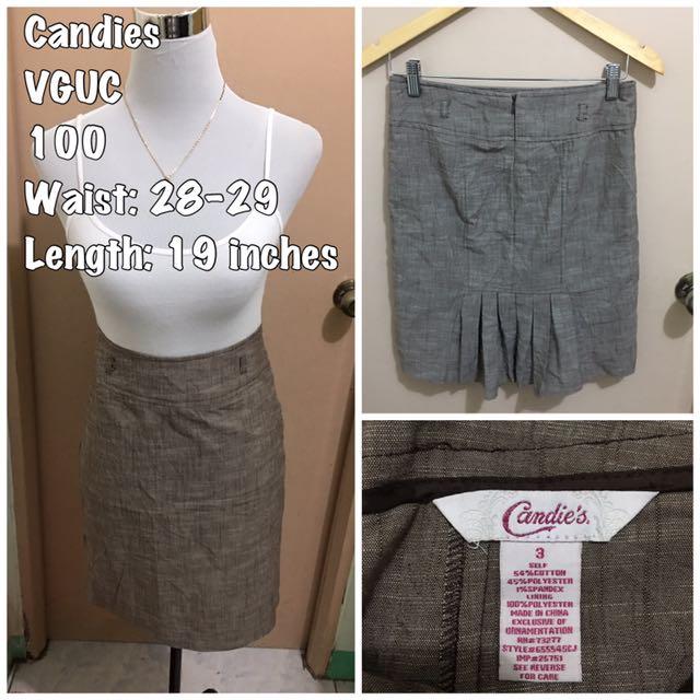 Branded skirt