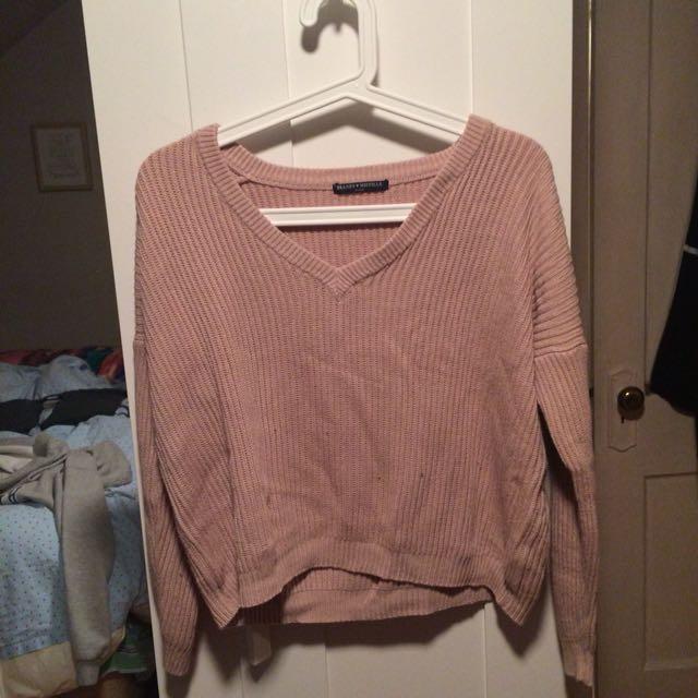 Brandy melville off the shoulder sweater