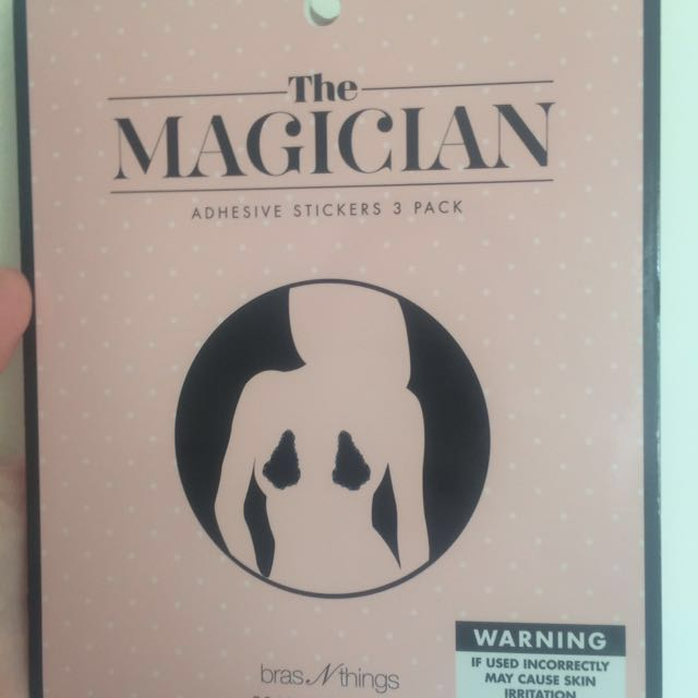 """Bras N Things """"the magician"""" adhesive bra uplift stickers"""