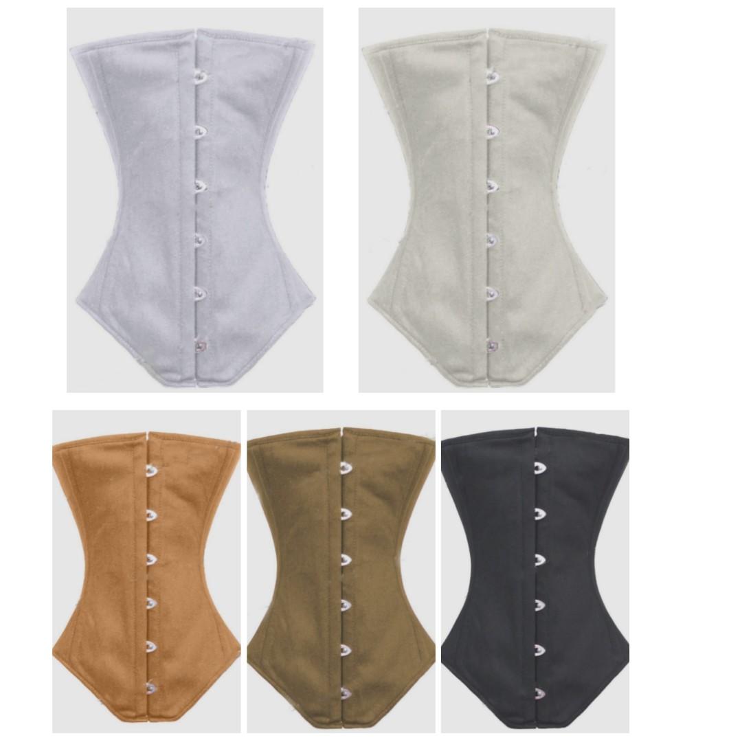726c51df9a Budget Cotton Long Underbust Corset - PLUS SIZES AVAILABLE - FREE ...