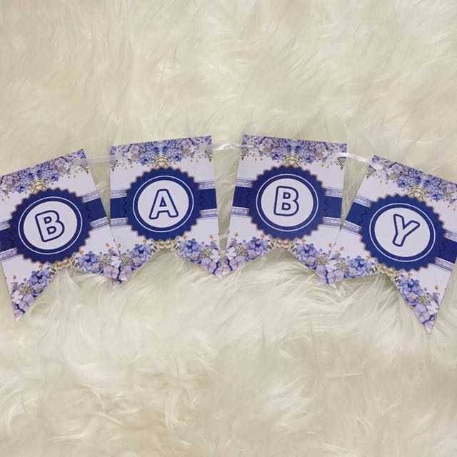 Bunting Flag - BABY SHOWER