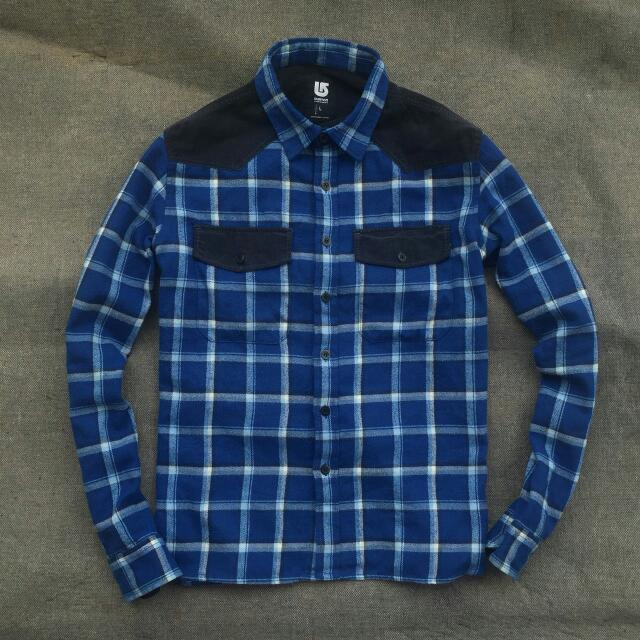 Burton Flannel Plaid Blue