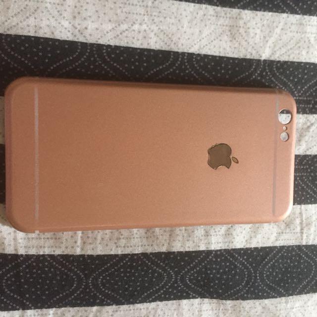 Case iphone 6 rosegold