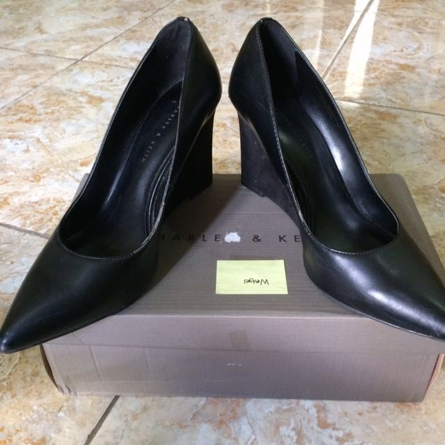 Charles and kheith Shoes black