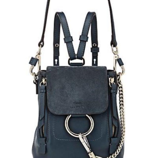 Chloe Faye backpack mini