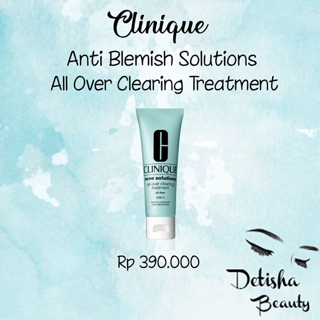 Clinique Anti Blemish All Over Clearing Treatment