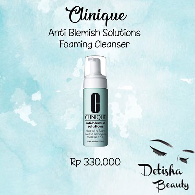 Clinique Anti Blemish Foaming Face Wash