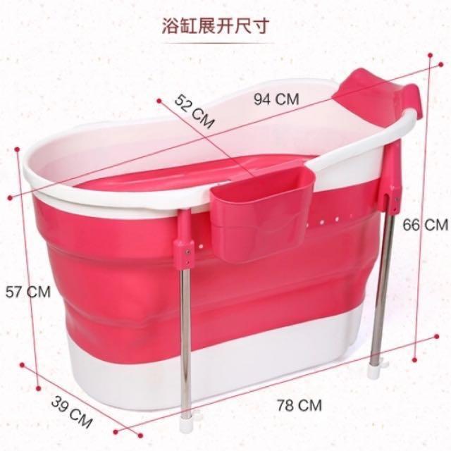 bath september adults foldable bathtub collapsible product parentingleparentingle blue tub for juniors g