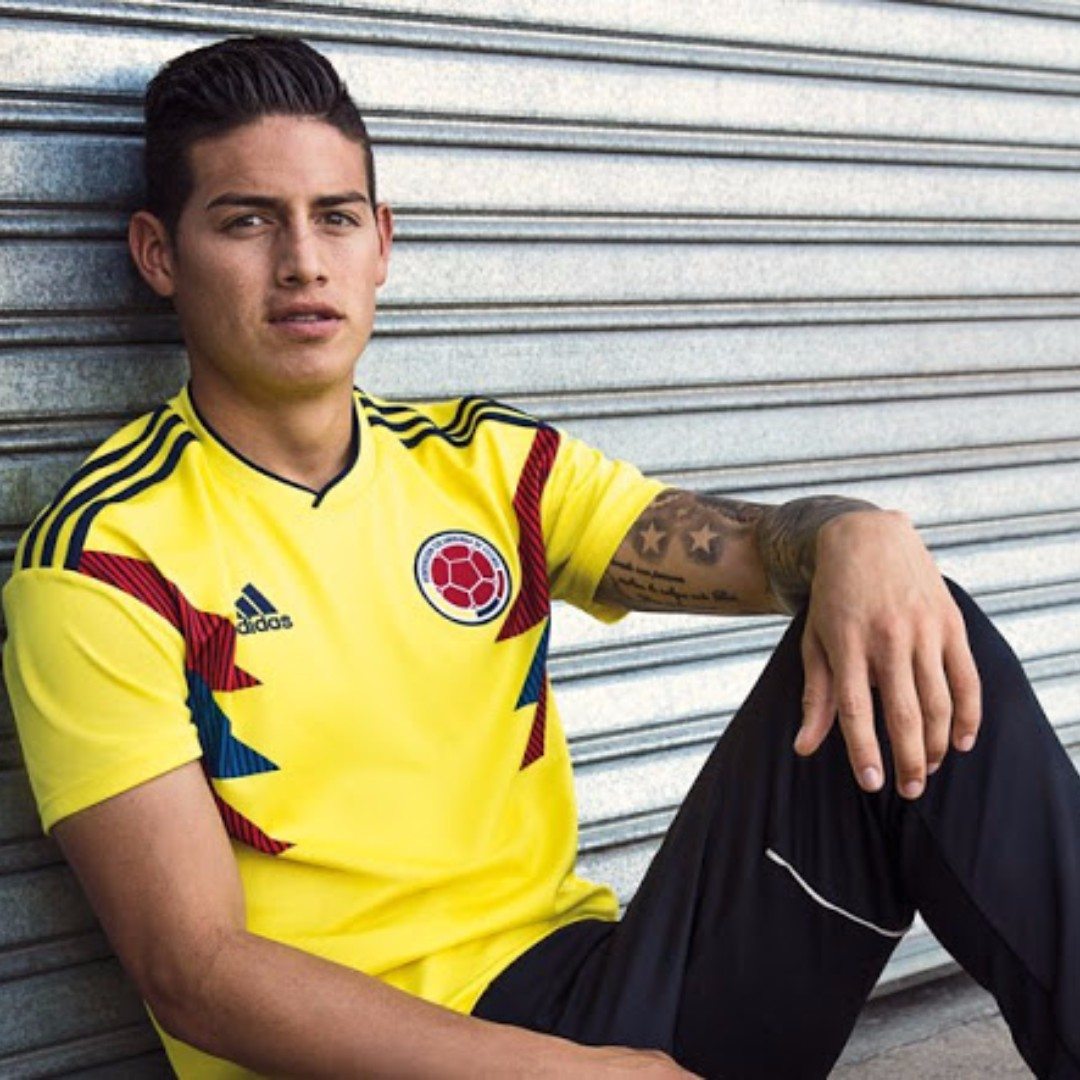 69fab7d4c16 Colombia World Cup 2018 Home Kit