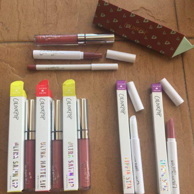 colour pop jumbo set