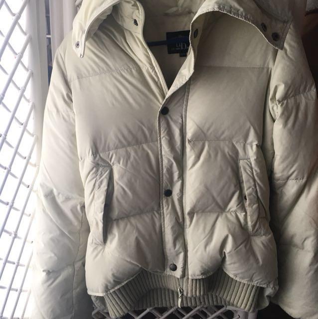 Cream winter jacket #BlackFriday50