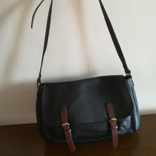 Crew Republica leather sling bag