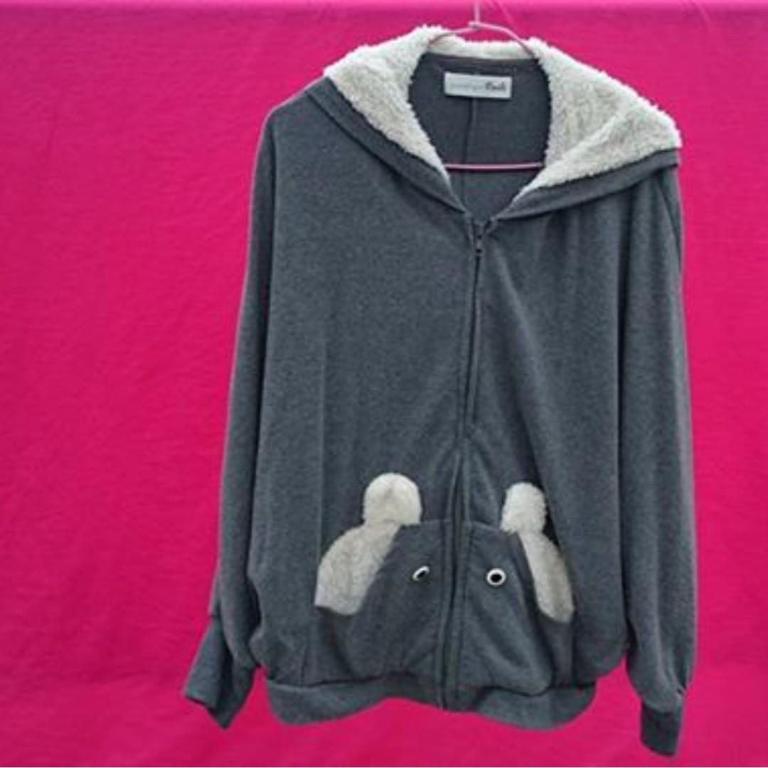Dailo動物系列飛鼠袖短版外套