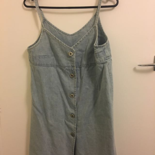 Denim Dress (Korean Style)