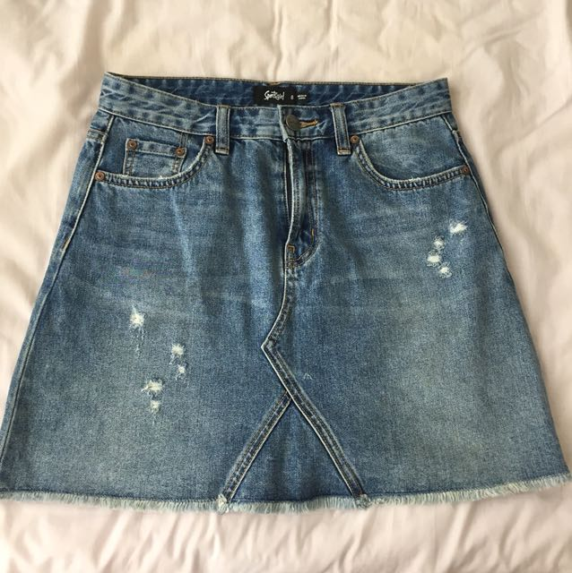 Denim skirt sportsgirl