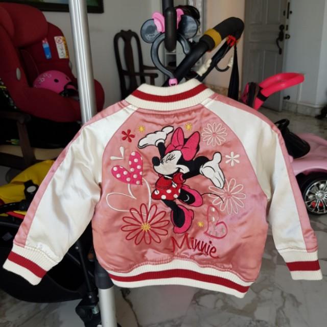 27bfeba67aa Disney Minnie Mouse Jacket, Babies & Kids, Girls' Apparel on Carousell