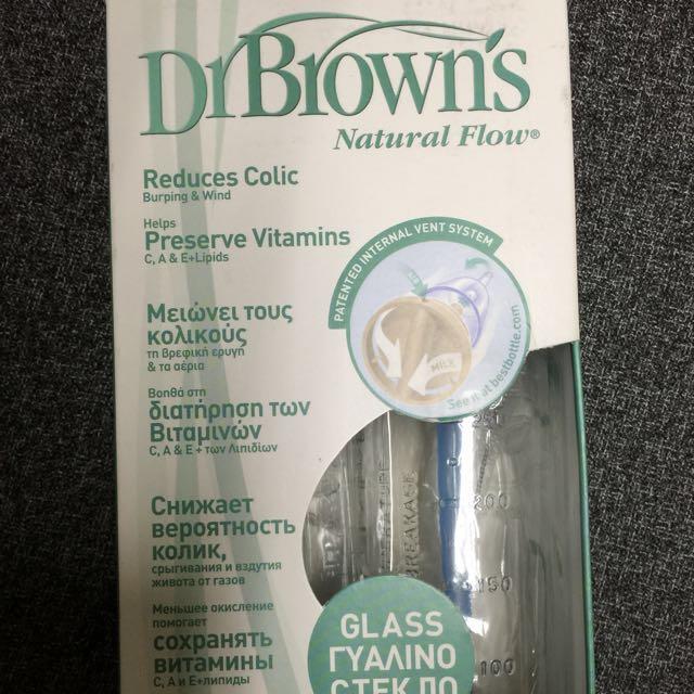DrBrown's標準玻璃奶瓶