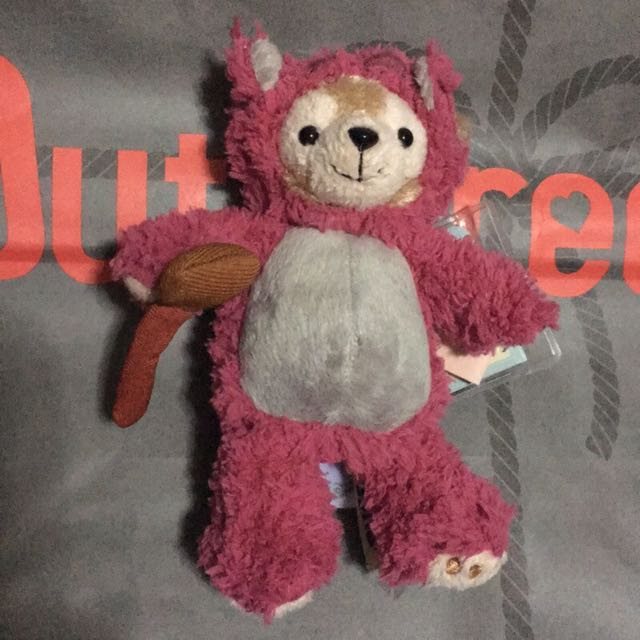 迪士尼Duffy熊抱哥造型鑰匙圈