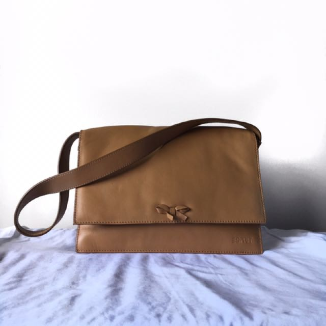 Esprit Medium Tan Sling Bag