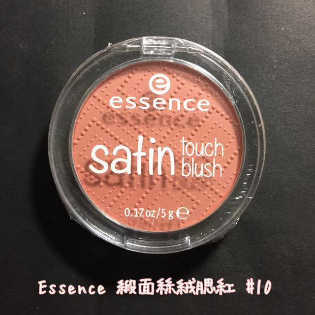 Essence satin touch blush 緞面絲絨腮紅✨ #一百元美妝