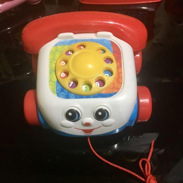 Fisherprice pull telephone toy