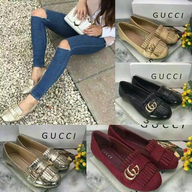 Flat Shoes Gucci