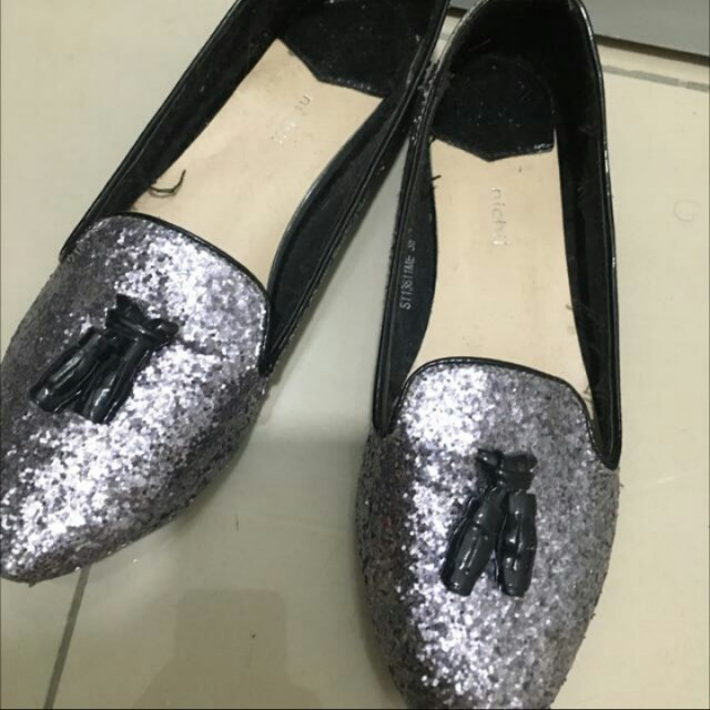 Glitter Flat Shoe