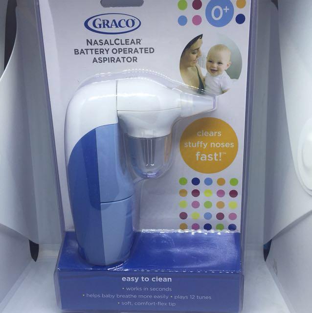 Graco nasalclear battery operated aspirator