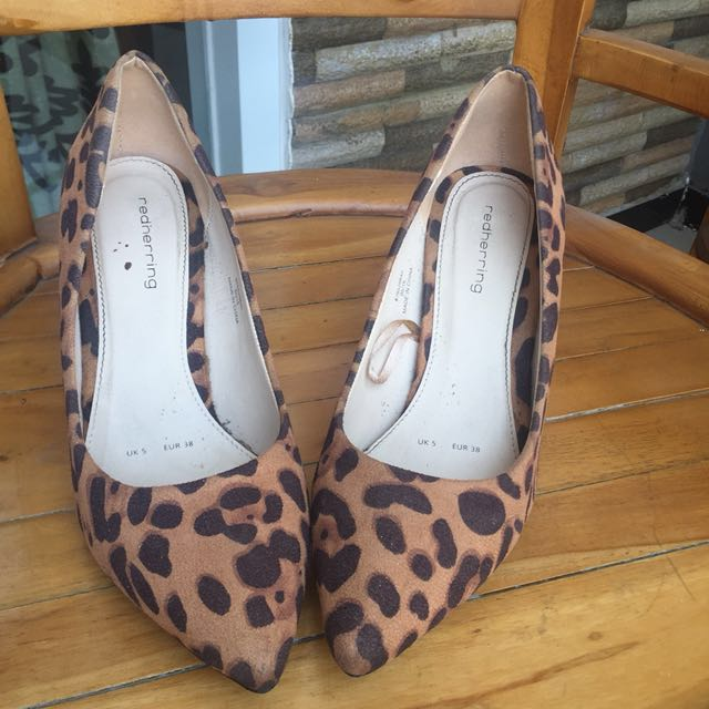 Heels leopard by debenhams