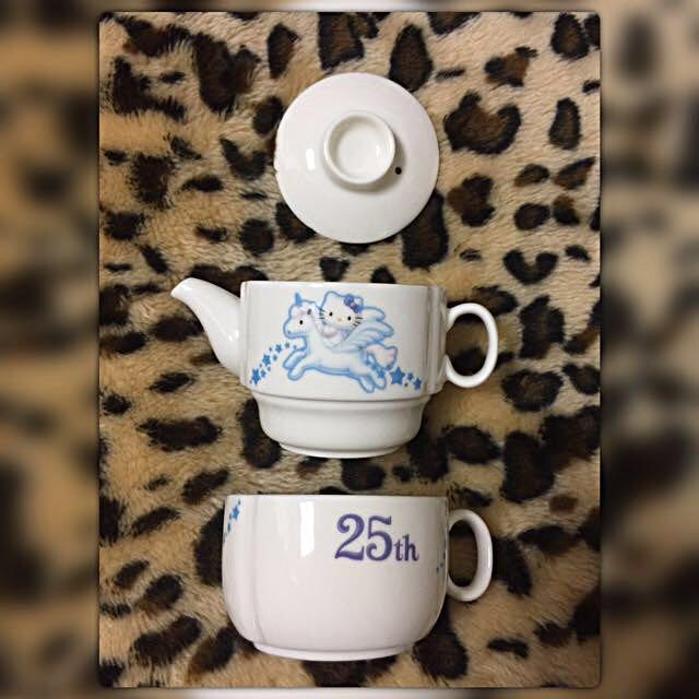 Hello Kitty陶瓷組合杯組💕