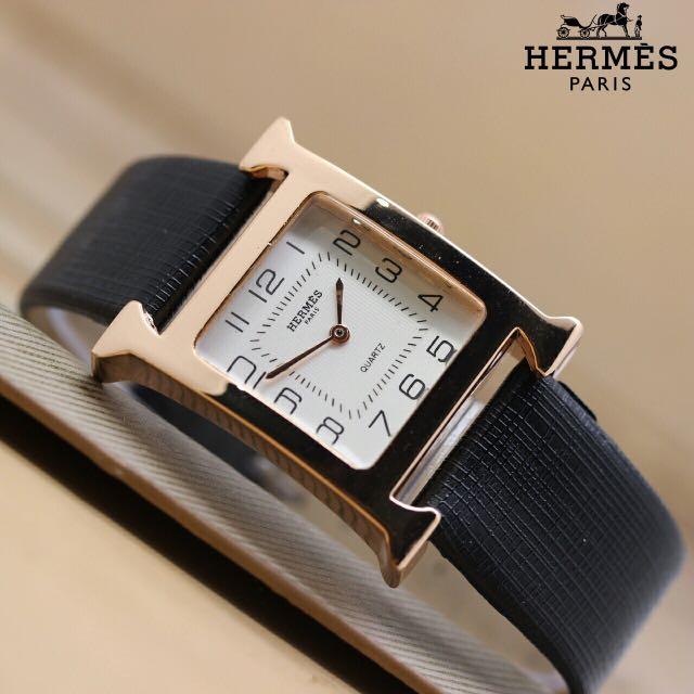 HERMES logo jam Hermes logo H kulit
