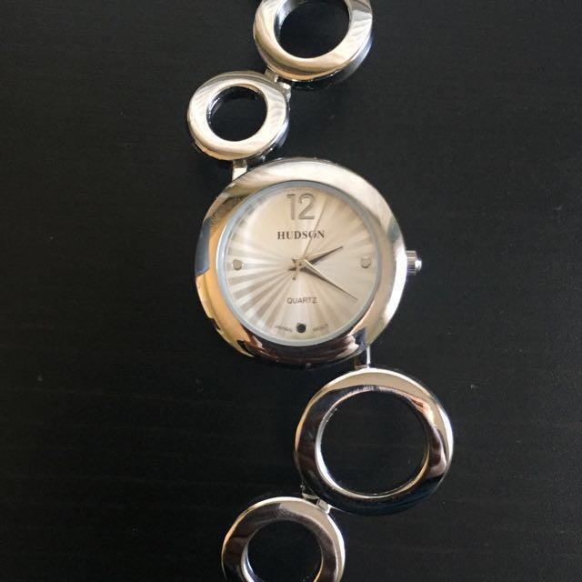 Hudson Silver Watch