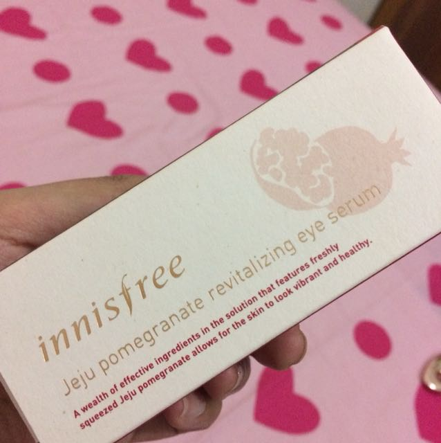 INNISFREE Jeju pomegranate revitalizing eye serum