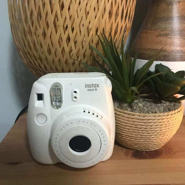 Instax Mini 8 White Im great condition