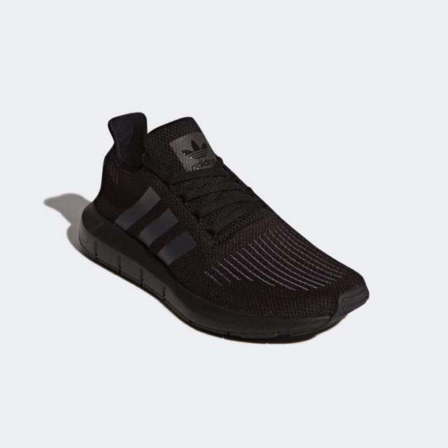 4337816de2af INSTOCK) Adidas Swift Run Triple Black