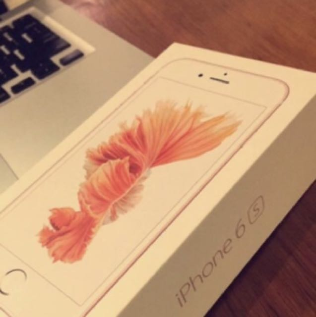 iPhone 6s Unlocked Rose Gold 16 gb 10/10 condition