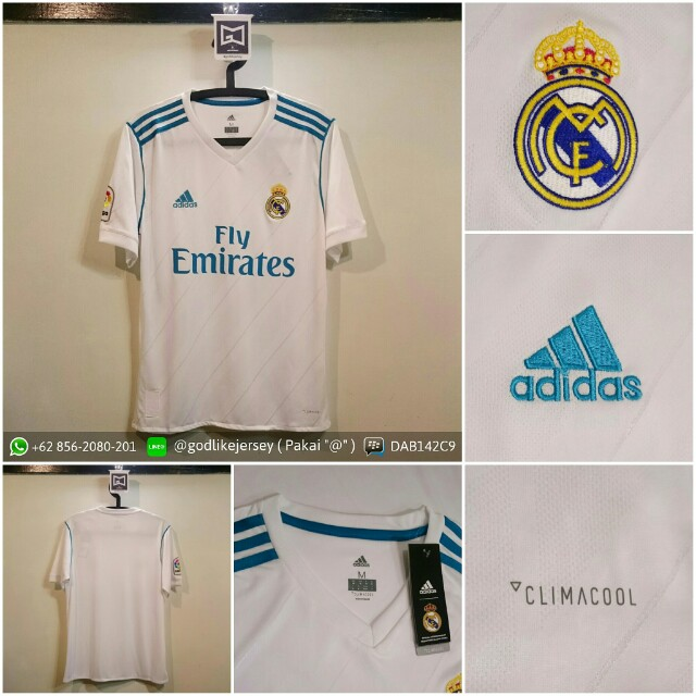 Jersey Real Madrid Home 2017/2018