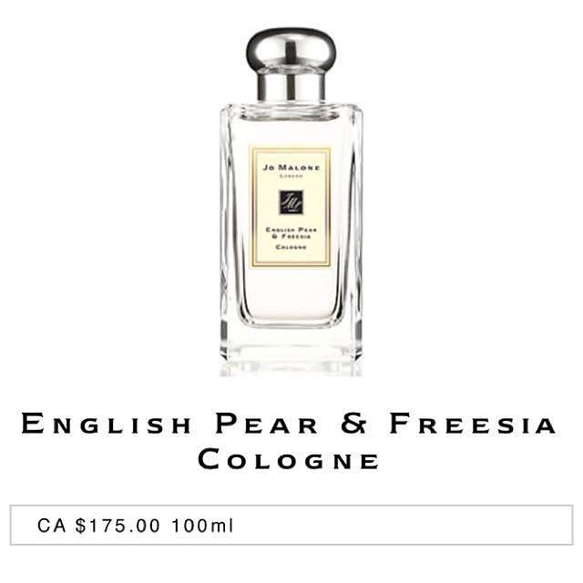 Jo Malone ENGLISH PEAR & FREESIA Cologne