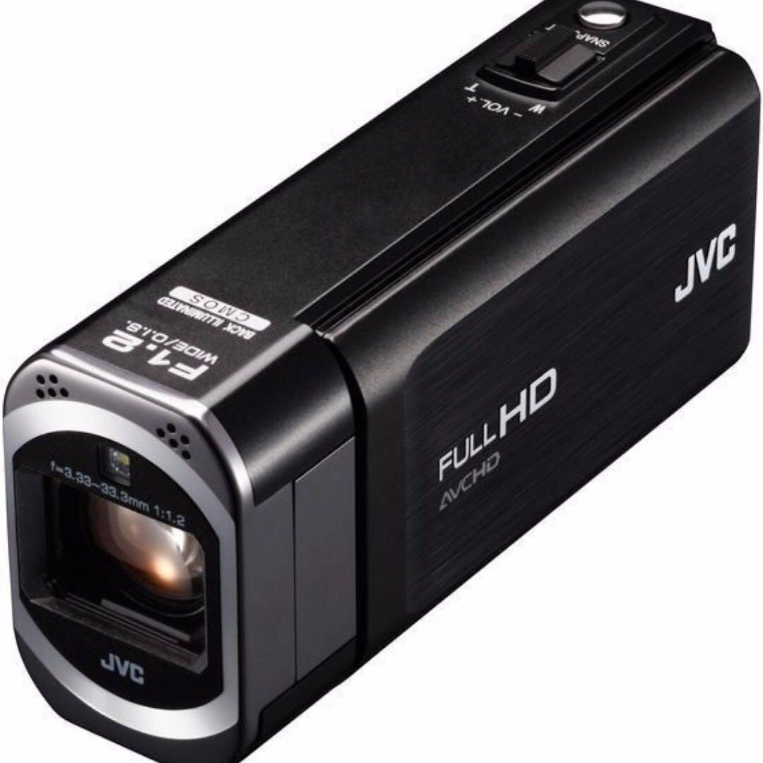 JVC GZ-V505  Full HD F1.2大光圈 10倍光學23