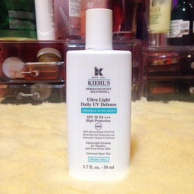 Kiehls Ultra Light UV Defense