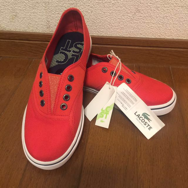 Lacoste Rene Sleek Slip Shoes