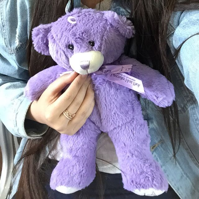 Lavendar Bear from Tasmania
