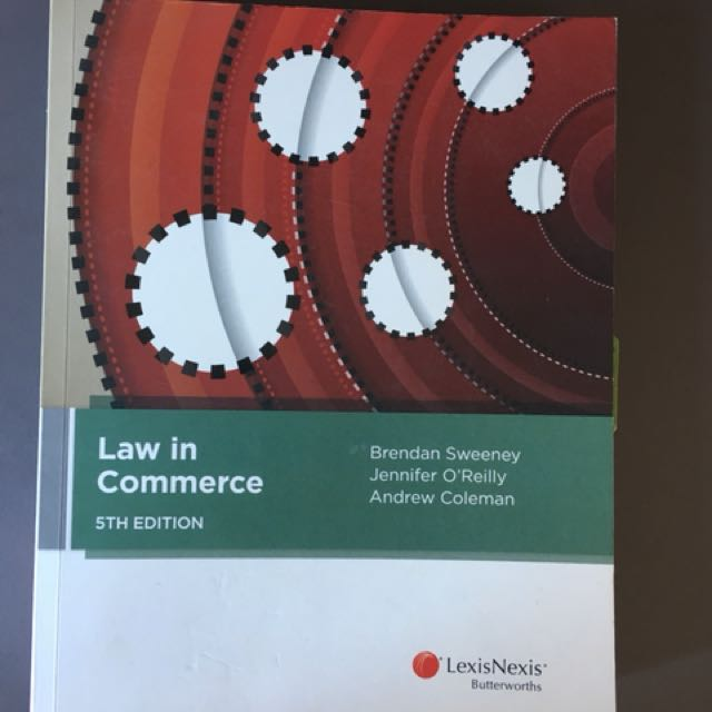 Law In Commerce 5th Ed