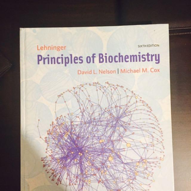 Lehninger Principles of Biochemistry; 6th edition