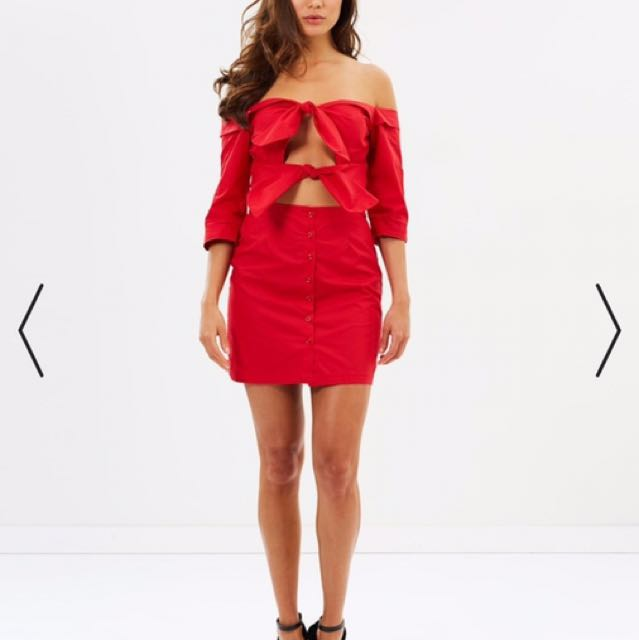 Lioness Red Dress