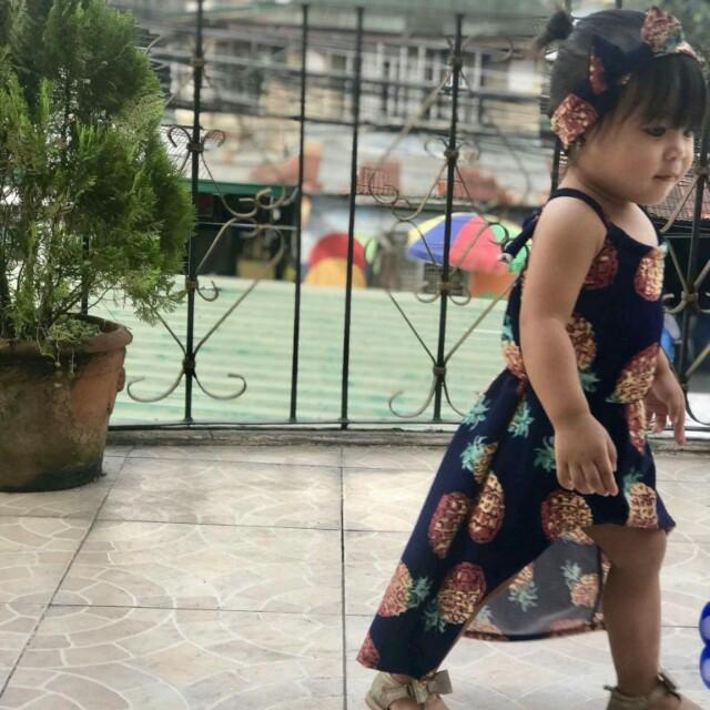 Longback Dress with Turban