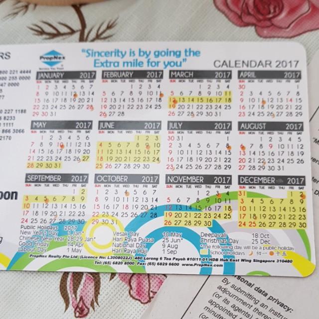 Looking for 2018 magnet calendar