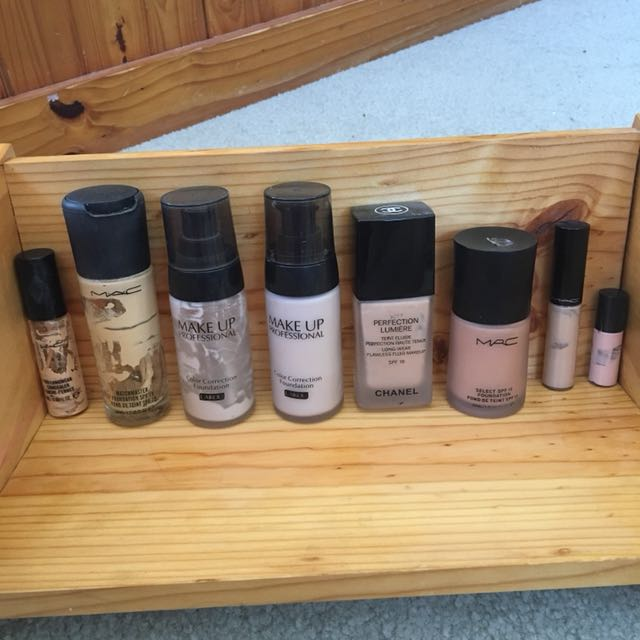 Makeup foundation and concealers new and used
