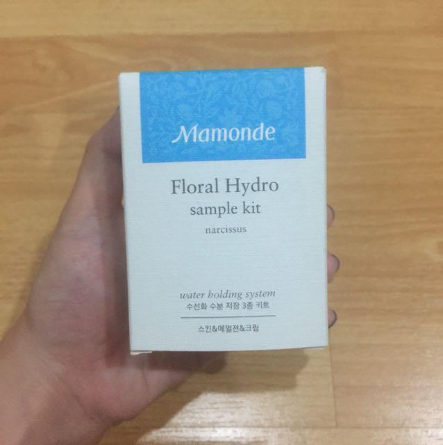 mamonde floral hydro sample kit narcissus